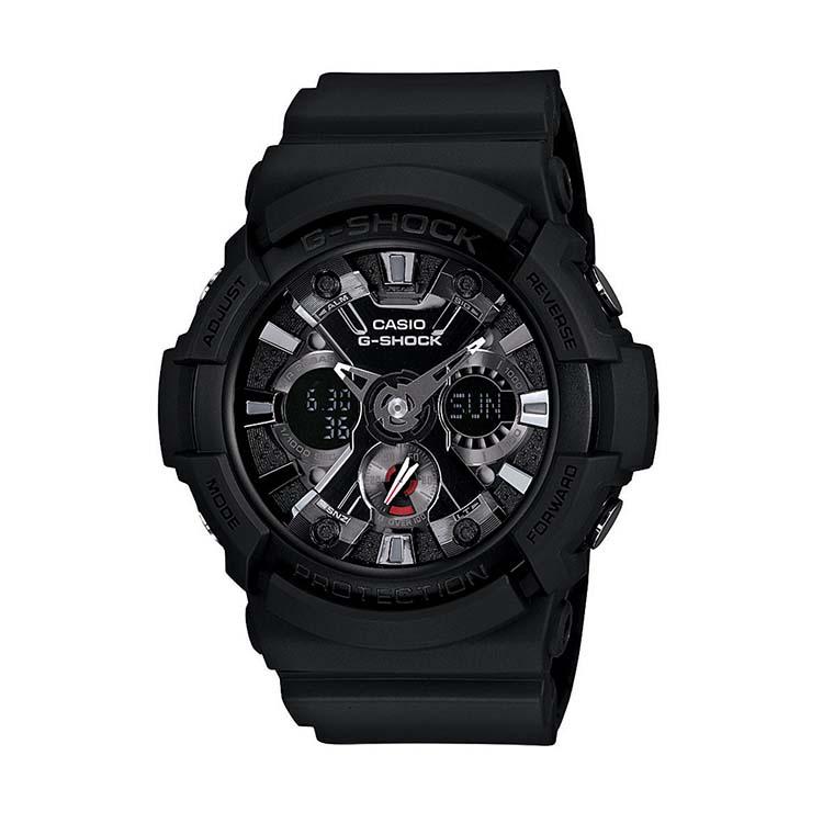 G-Shock GA201-1A (Metal Bracelet)