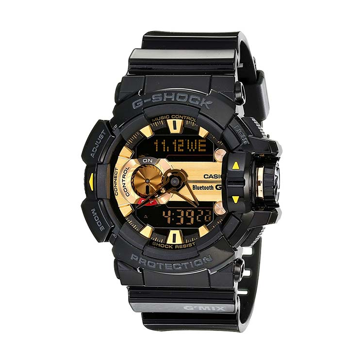 G-Shock GBA400 Black And Gold