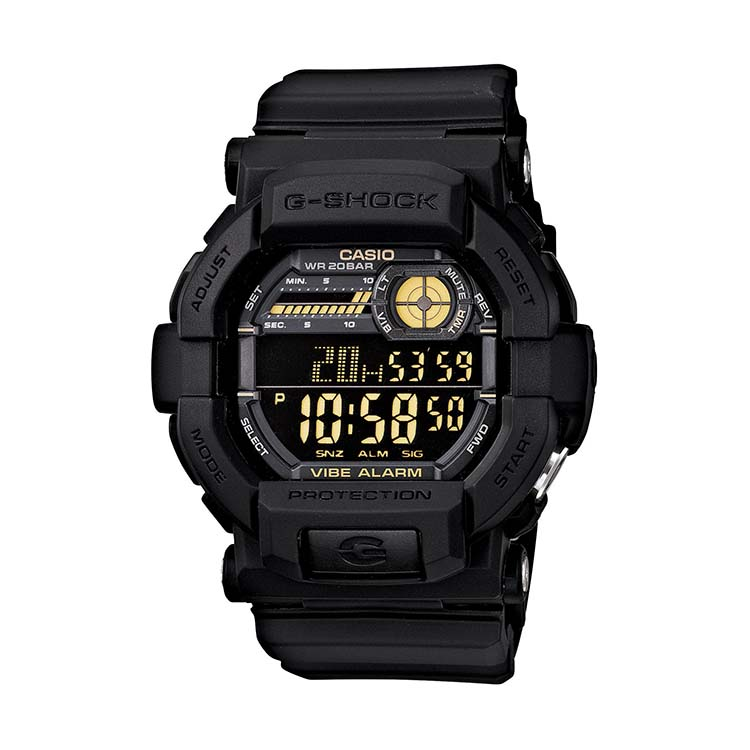 G-Shock GD 350 Black And Gold
