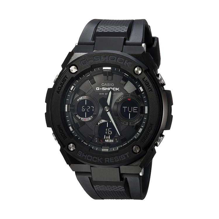 G-Shock GST-S100G-1BCR Black Steel