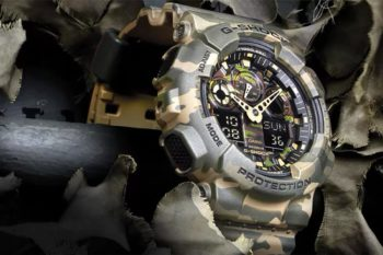 Top Casio G Shock Camouflage Camo Watches Series