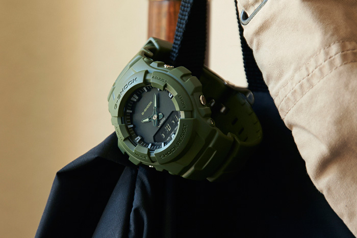 Black and Green Casio G Shock Watches