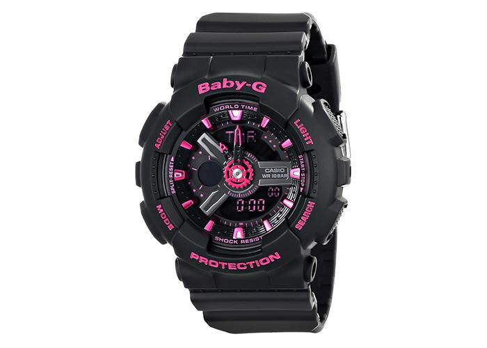 Casio Baby-G BA-111-1ACR Black & Pink