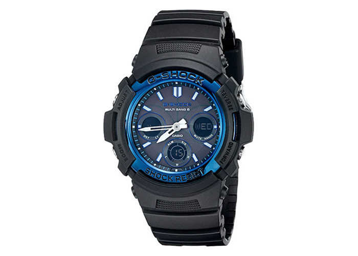 Casio G-Shock AWGM100A-1A Black & Blue