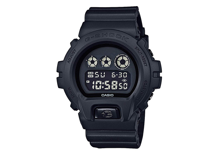 Casio G-Shock DW6900BB-1 Black Out Series All Black