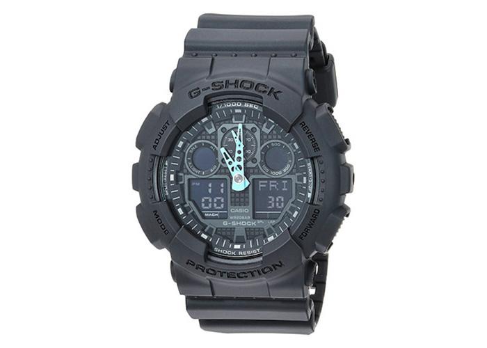 Casio G-Shock GA-100C-8ACR Black & Blue