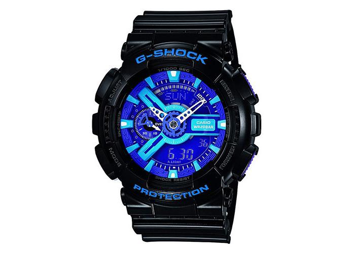Casio G-Shock GA-110HC-1ACR Black & Blue
