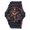 Casio G-Shock GAS100BR-1A Bright Orange