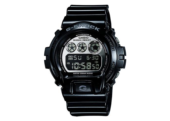 G-Shock DW6900NB-1 Silver & Jet Black