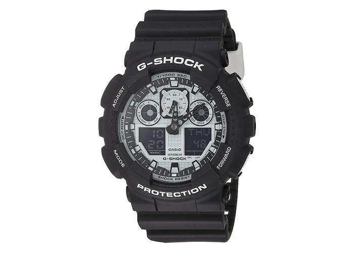 G-Shock GA-100BW-1A White and Black Series
