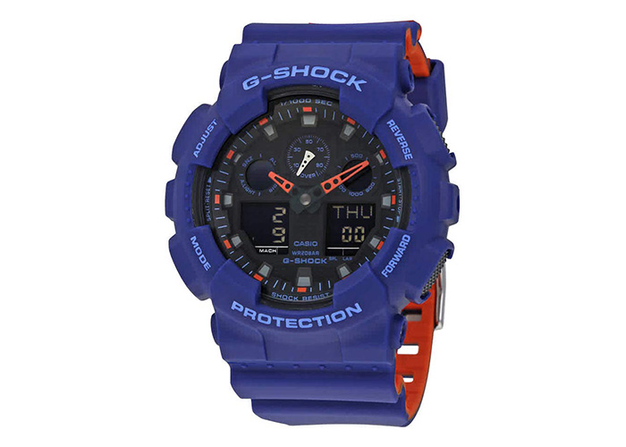 G-Shock GA-100L-2ACR Blue And Orange