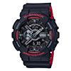 G-Shock GA-110HR Black & Red Series