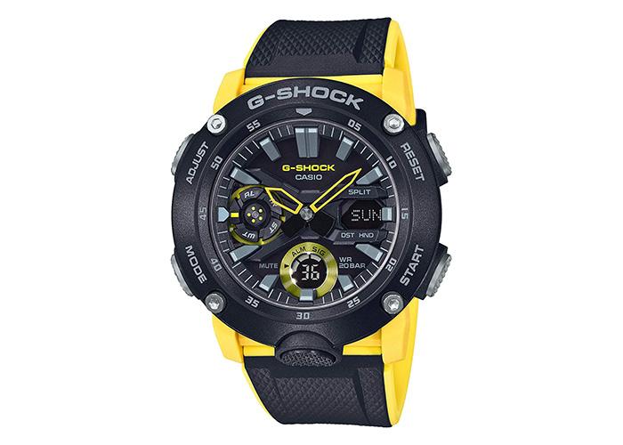 G-Shock GA-2000-1A9ER Black & Yellow