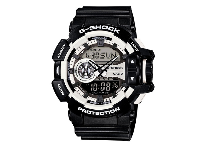 G-Shock GA-400-1A Black & White