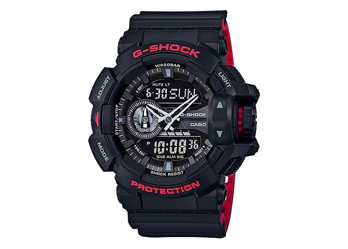 G-Shock GA-400HR Black & Red Layer Series