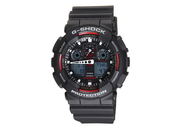 G-Shock GA100-1A4 Black & Red