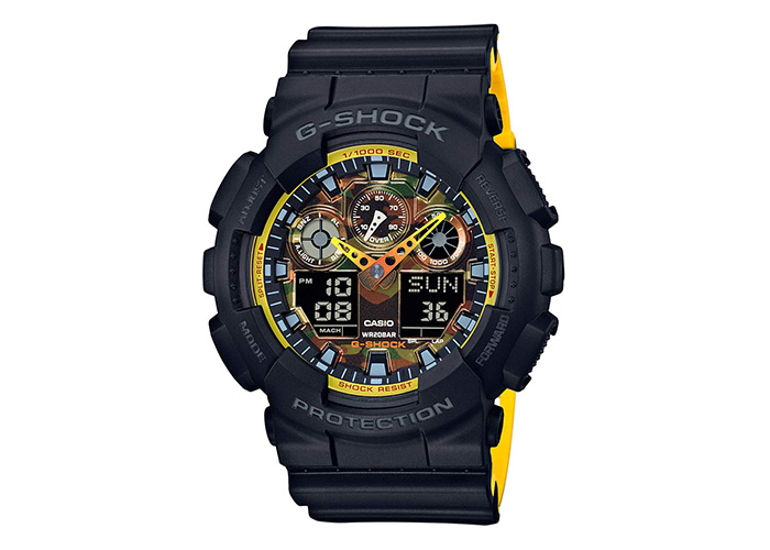 G-Shock GA100BY-1A Black & Yellow