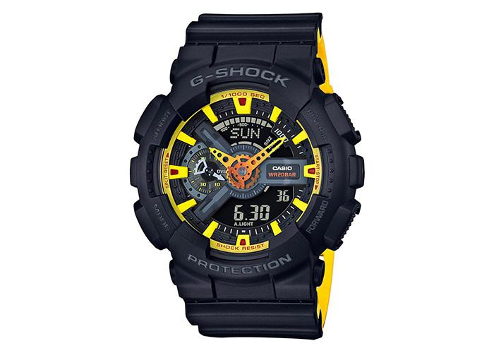 G-Shock GA110BY-1A Black & Yellow