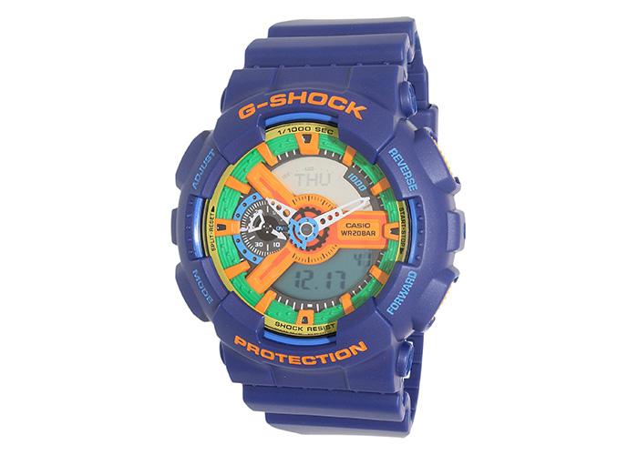 G-Shock GA110FC-2A Blue And Orange