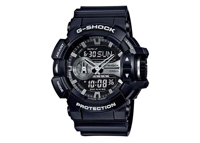 G-Shock GA400GB-1A Black and Silver