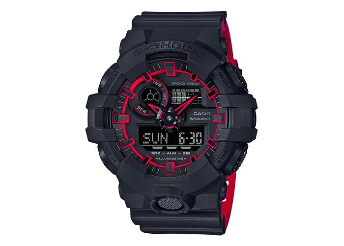 G-Shock GA700SE-1A4 Black & Red