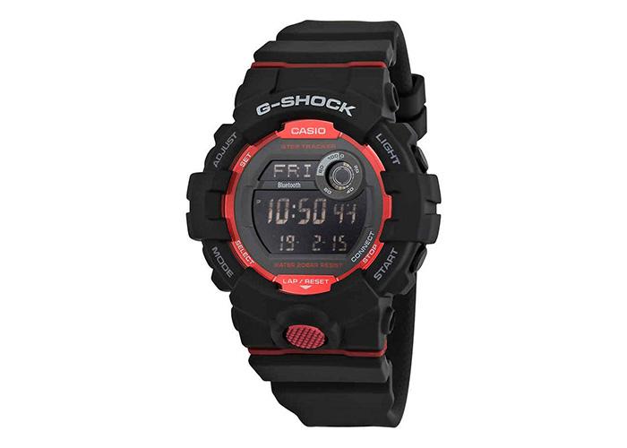 G-Shock GBD800-1 Bluetooth G-Squad Black & Red