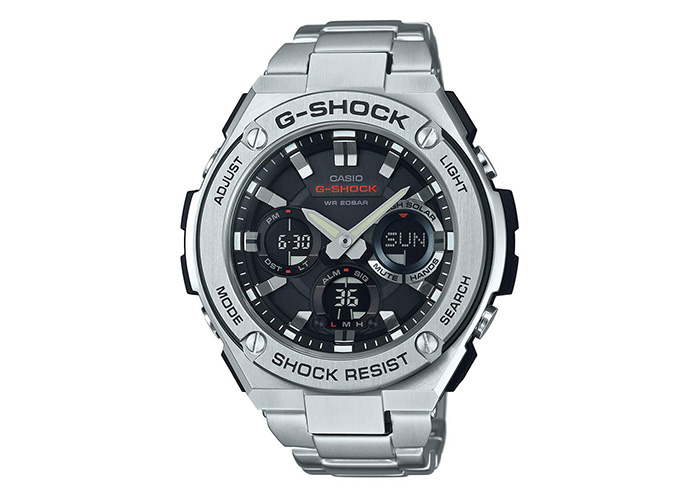 G-Shock GST-S110D-1ACR Stainless-Steel Silver