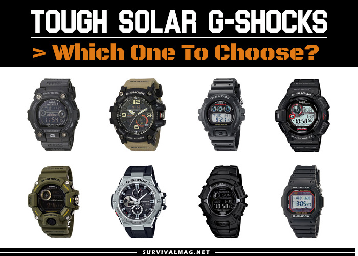 G Shock Watches With Tough Solar Powered Battery Atomic Multi Band 6
