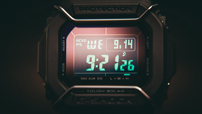 The 4 types of g shock squares