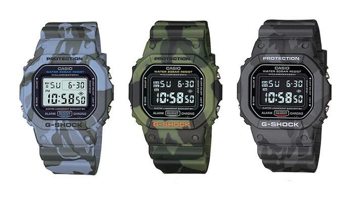 G-Shock DW-5600CF Series