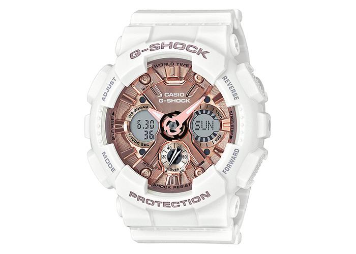 G-Shock GMA-S120MF-7A2CR White & Gold
